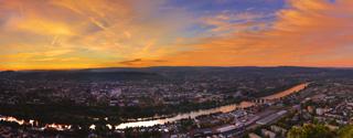 Über uns - Panoramaaufnahme von Trier 2020