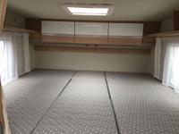 Sunlight T 68 - Die Einzelbetten umgebaut